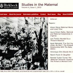 Studies in the Maternal: Volume 4