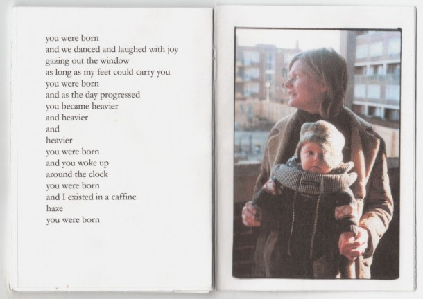 M(other)s Stories, First Born Photography Book, 10.5cm x 15cm, 2009, Helen Sargeant